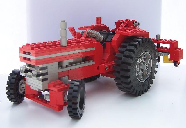lego technic traktor 851. Black Bedroom Furniture Sets. Home Design Ideas