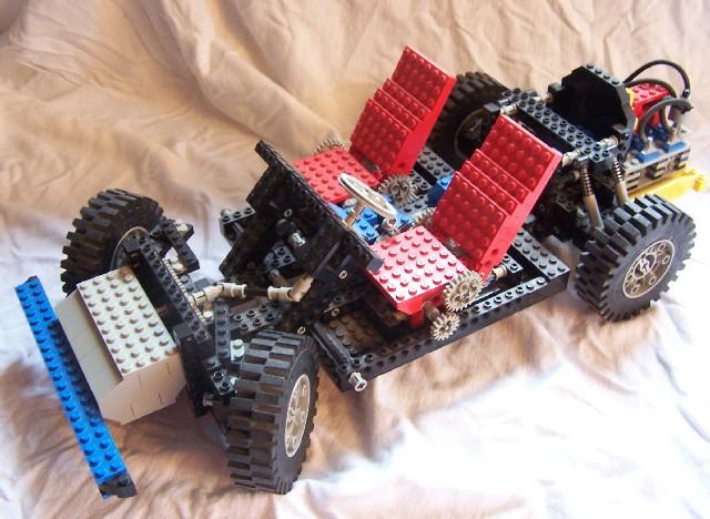 lego technic auto chassis 8860. Black Bedroom Furniture Sets. Home Design Ideas