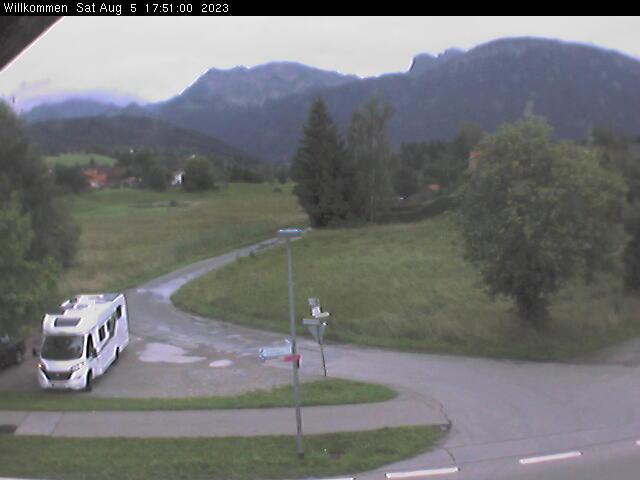 Webcam-Bild aus 87459 Pfronten im Ostallg�u